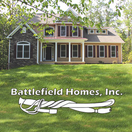 Battlefield homes inc custom home for Custom home builders fredericksburg va
